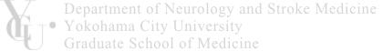 Department of Neurology and Stroke Medicine, Yokohama City University Graduate School of Medicine
